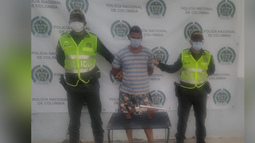 Capturan a hombre que asesinó a su pareja a bala en Sitionuevo, Magdalena