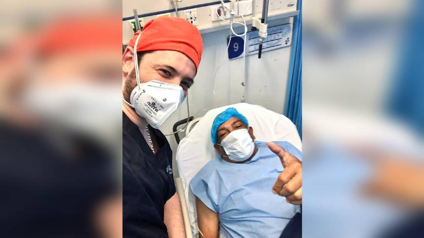 Someten a trasplante de rodilla a Beto Zabaleta en Barranquilla