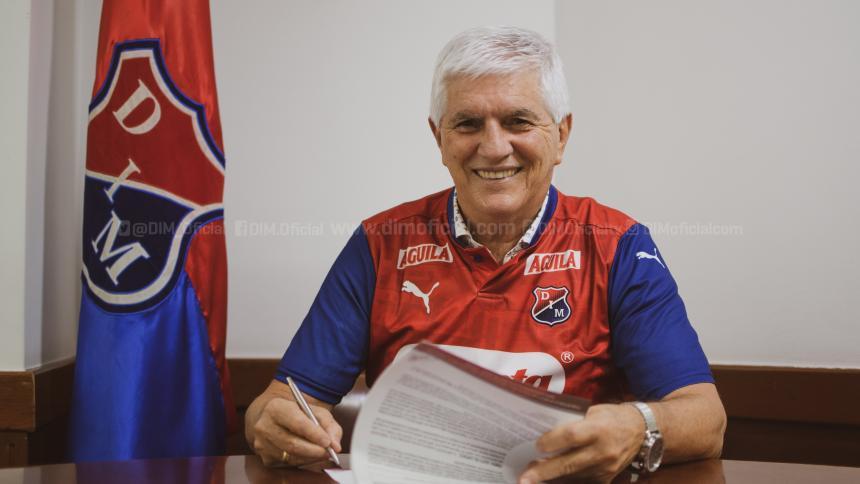 Julio Comesaña es el nuevo entrenador del Medellín