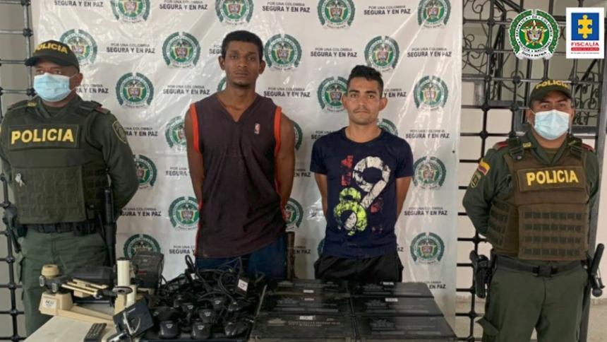 A la cárcel presuntos responsables de robar colegio en Cesar