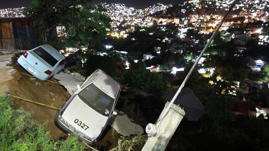 Víctimas del terremoto de magnitud 7.1 en México
