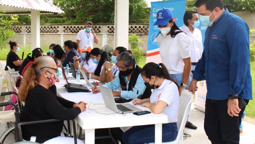 Gobernación del Atlántico y Comfamiliar realizan jornada de empleabilidad para personas con discapacidad