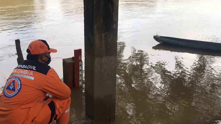 Persiste la alerta roja por lluvias en los ríos San Jorge y el Sinú