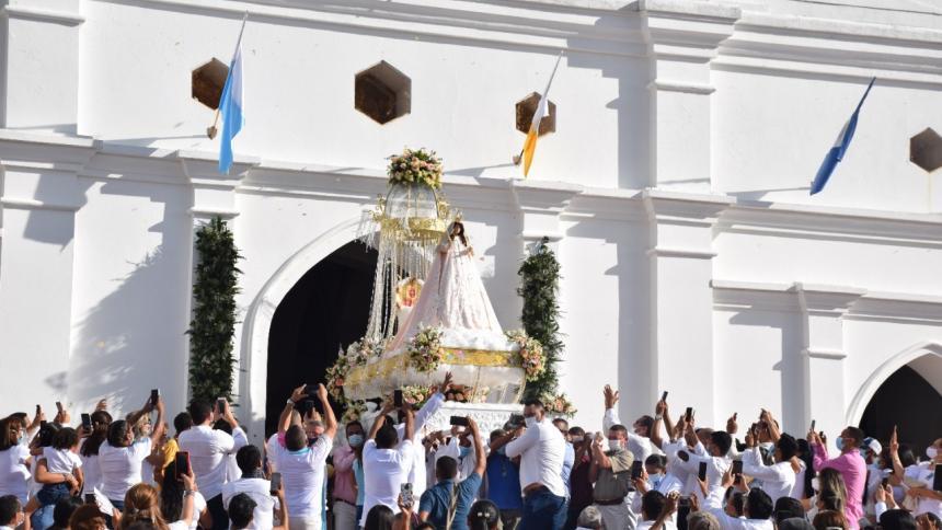 Devotos de la Virgen del Socorro celebraron su fiesta