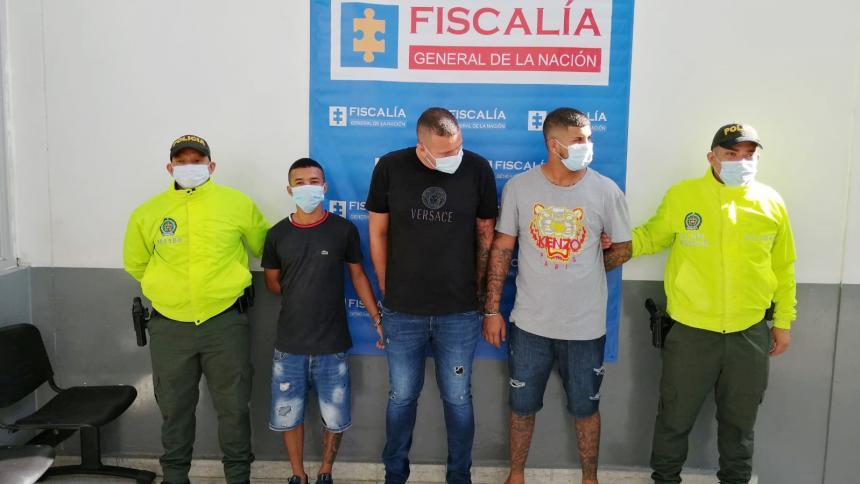 Capturan a presuntos delincuentes que hurtaban motocicletas