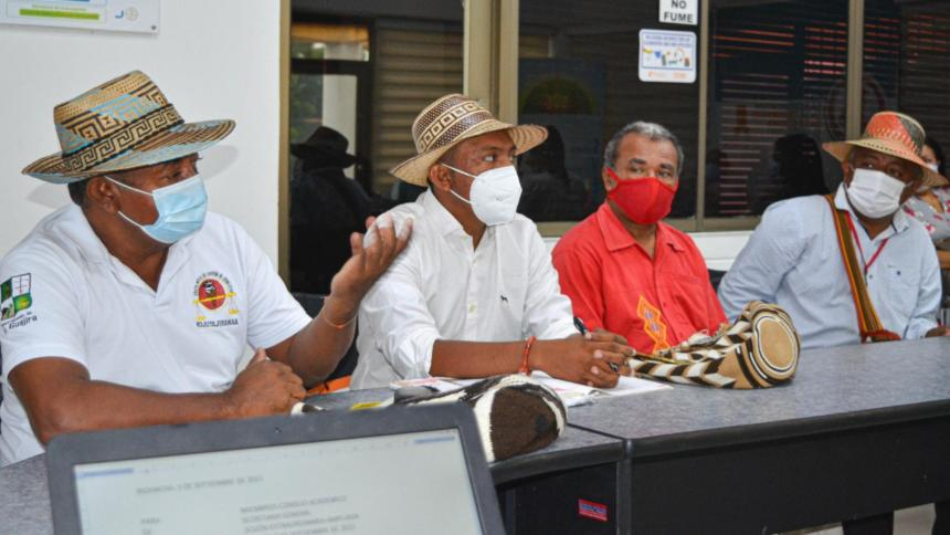 Uniguajira se compromete en la ampliación de cupos para comunidades étnicas