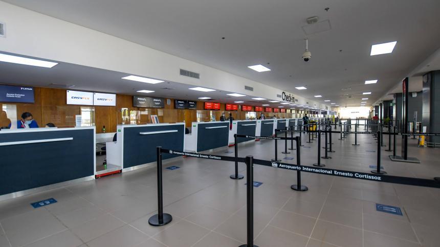 Modernización del Cortissoz, un proyecto que nació tras el fracaso del 'mega-aeropuerto'