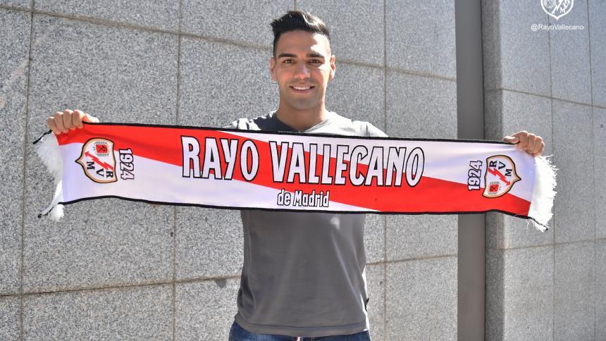 Falcao pasa el reconocimiento médico con el Rayo Vallecano