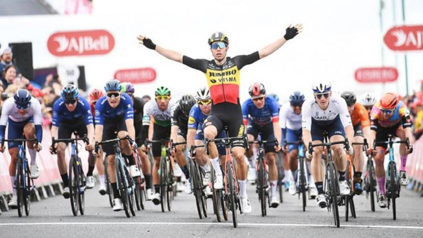 Wout Van Aert logró la victoria final en el Tour de Gran Bretaña
