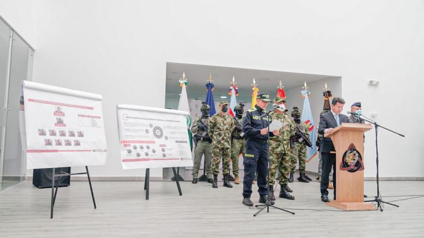 Ejército reporta la muerte de siete integrantes del Clan del Golfo