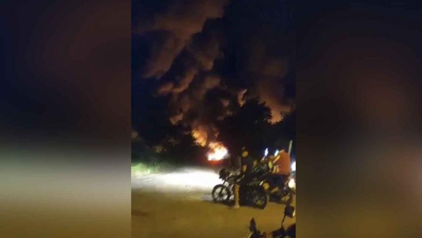 Explosiones en campo petrolero de Barrancabermeja