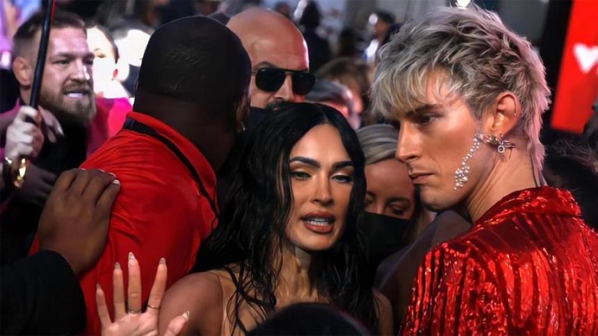 La pelea en la alfombra roja entre Conor McGregor y novio de Megan Fox