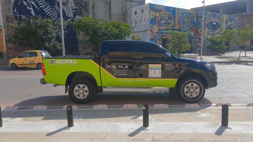 Disponen unidades móviles para atender emergencias ambientales en Atlántico