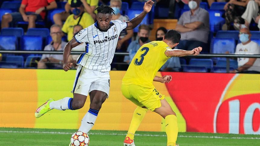 Atalanta rescató un punto en casa del Villarreal en la Champions