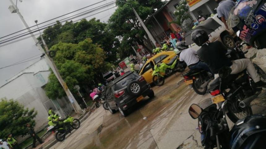 'Alex la Gorda' cae de nuevo en persecución en la Ciudadela 20 de Julio