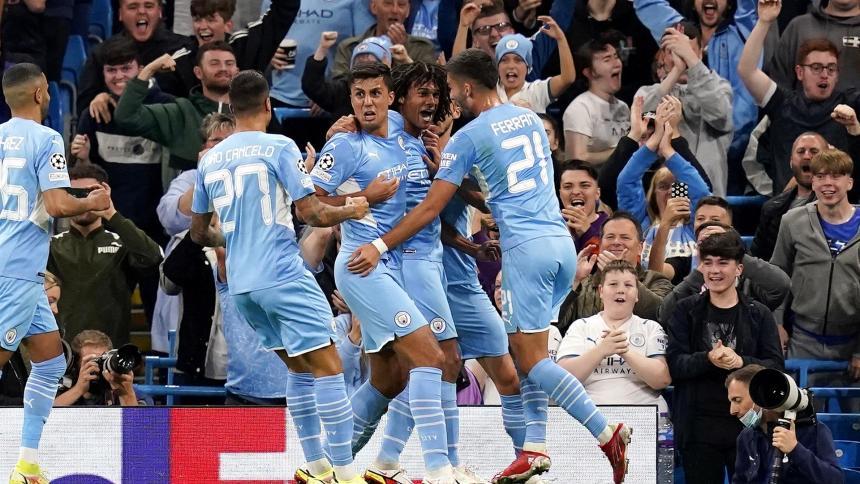 El Manchester City arrancó con una gran victoria de 6-3 sobre el Leipzig