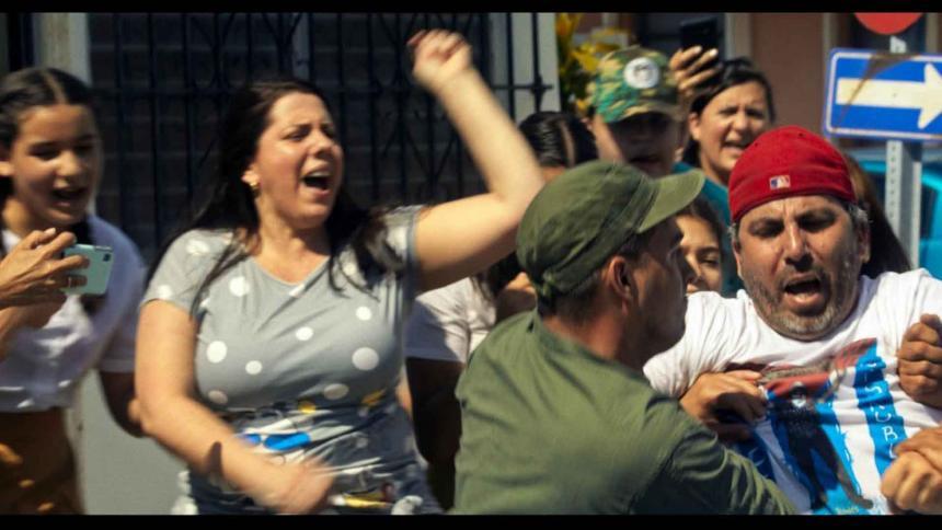"'El caballo', el filme que retrata el 11J cubano al ""margen de la ley"""
