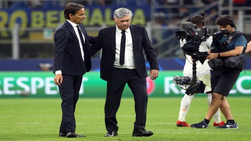 """""""Sufrimos en la primera parte"""": Carlo Ancelotti"""