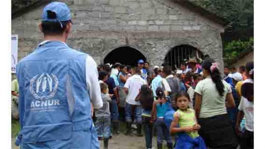 ACNUR pide más financiación para atender impacto de pandemia en desplazados
