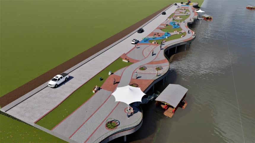 Adjudican ampliación del parque Ronda del Sinú en Montería