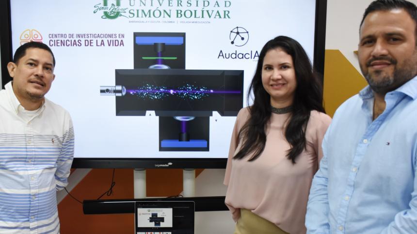 Unisimón patenta sistema de detección en vivo de partículas en el aire