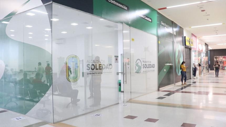 En el Tránsito de Soledad, atención priorizada para quienes deseen acogerse a descuentos