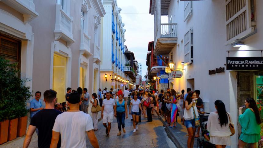 El Centro Histórico de Cartagena será solo para peatones este domingo