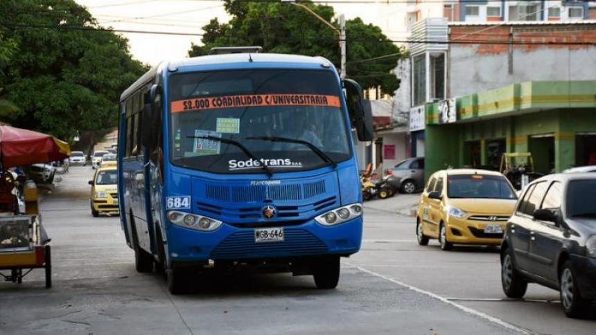 Una mujer herida en atraco a bus de Alianza Sodis
