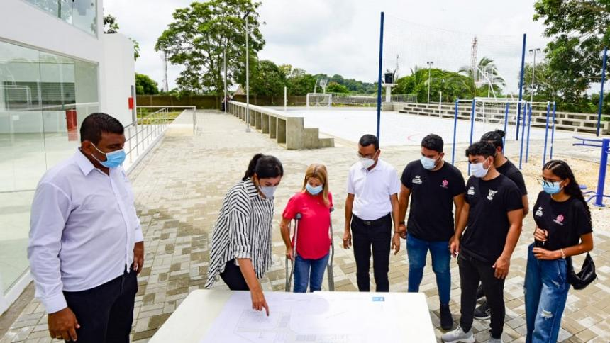 Obras del centro juvenil de Tubará, en la recta final