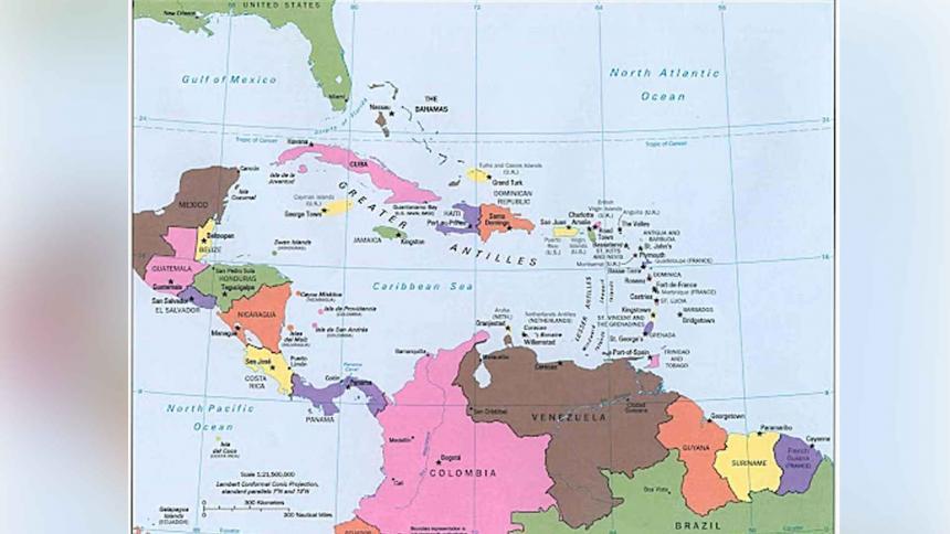 Las reiterativas demandas de Nicaragua en el mar Caribe