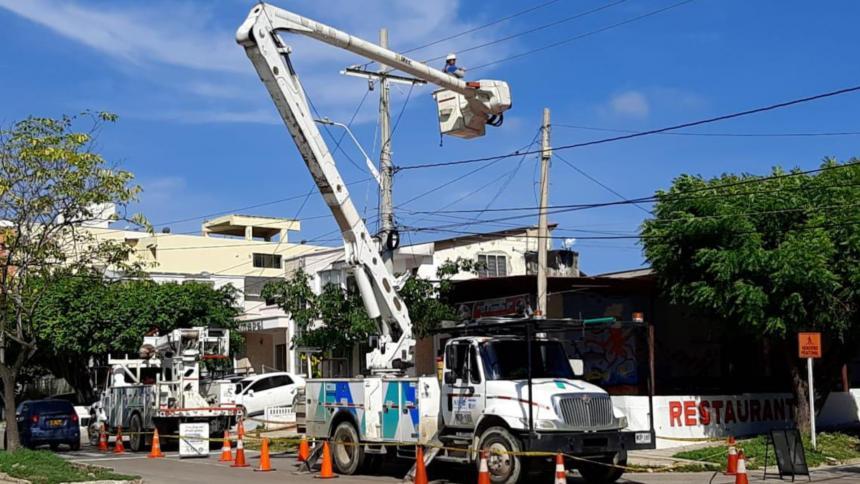 Barrios de Barranquilla y Atlántico estarán sin energía este martes
