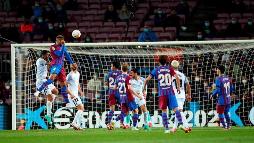 El uruguayo Ronald Araújo (Barcelona) estrena su cuenta goleadora