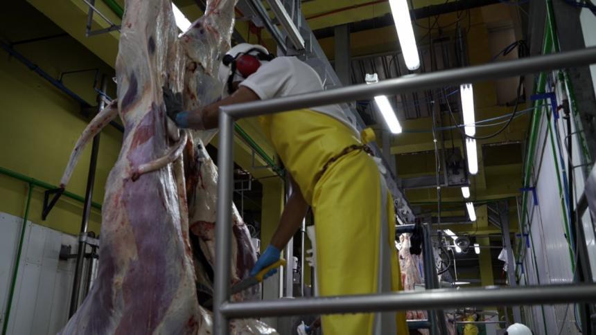 Exportaciones de carne bovina se disparan en 2021