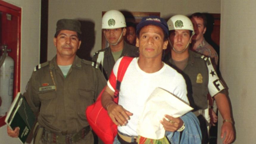 Anthony De Ávila, capturado en Italia por narcotráfico