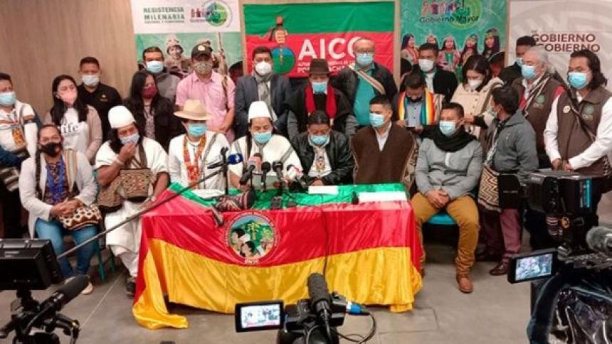 """Pueblos indígenas de Colombia denuncian ser """"blanco"""" de los actores armados"""