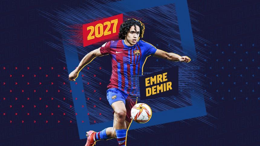 El Barça ficha al turco Emre Demir para la próxima temporada