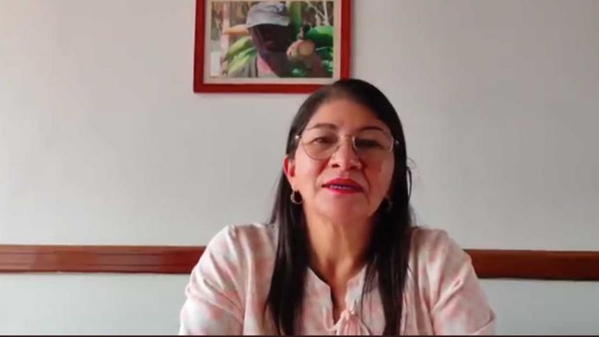 """Sandra Ramírez pide perdón por decir que secuestrados tenían """"comodidades"""""""