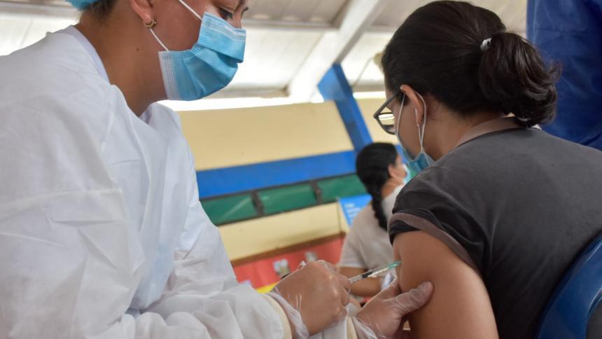 Gobernación del Atlántico dice que Candelaria ya tiene el 70 % de su población con primera dosis