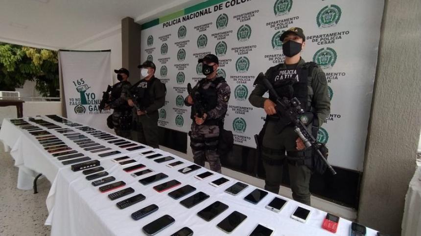 Así ingresan los celulares en La Tramacúa para cometer extorsiones