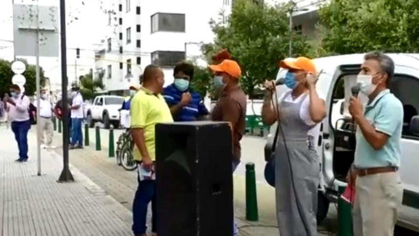Persiste reclamo del retroactivo salarial para docentes en Córdoba