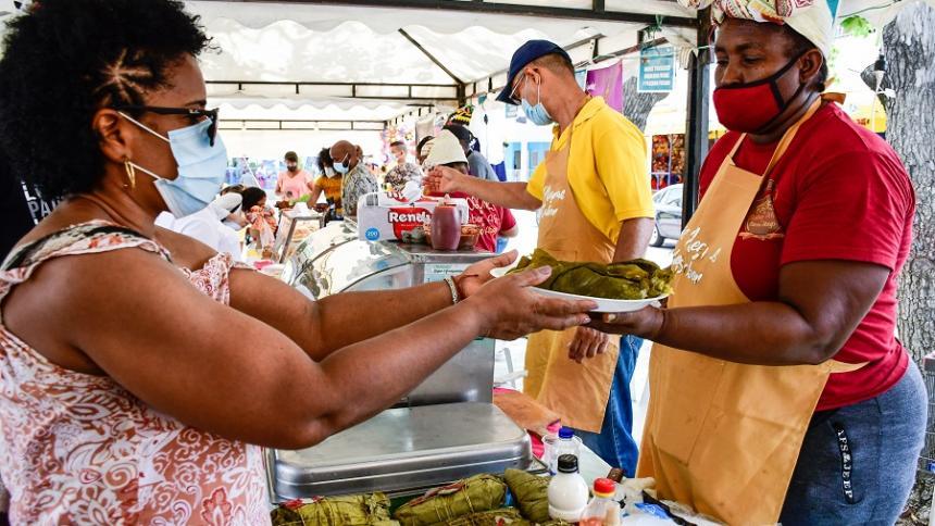 Barrio Abajo se prendió con los 'Fogones del Saber Afro'