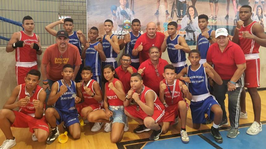 Atlántico, campeón del Torneo Nacional Junior de Boxeo