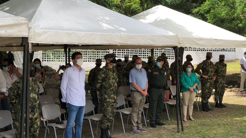 Instalan base militar en  Granabastos para fortalecer seguridad