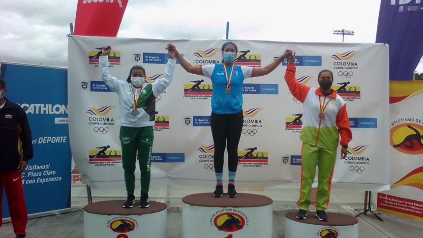 Atlántico ganó 10 medallas en Campeonato Nacional sub-23 de atletismo