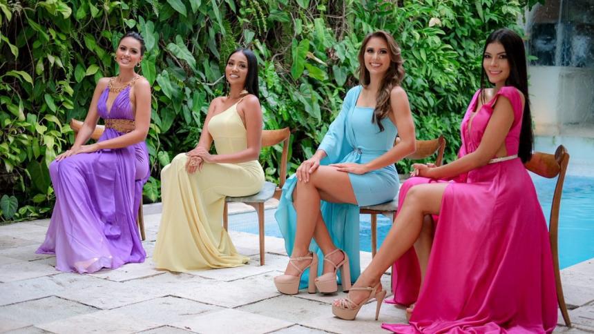 Candidatas a Señorita Cartagena se presentaron oficialmente ante los medios