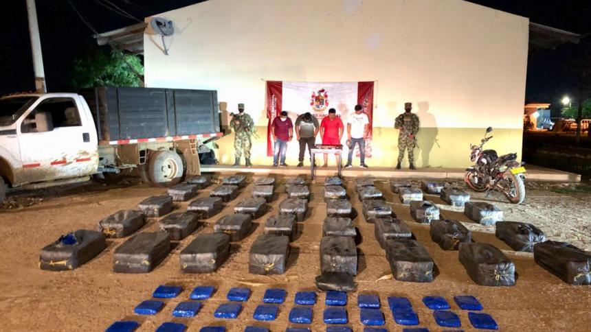 Incautan 819 kilogramos de marihuana en la Alta Guajira