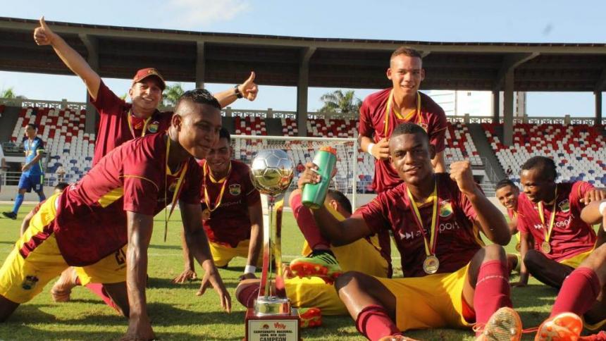 Tolima, verdugo de Atlántico, campeón del Torneo Nacional Prejuvenil