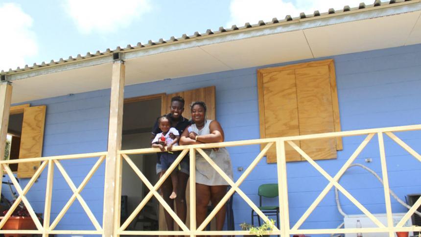 Huracanes impusieron la agenda de vivienda en San Andrés