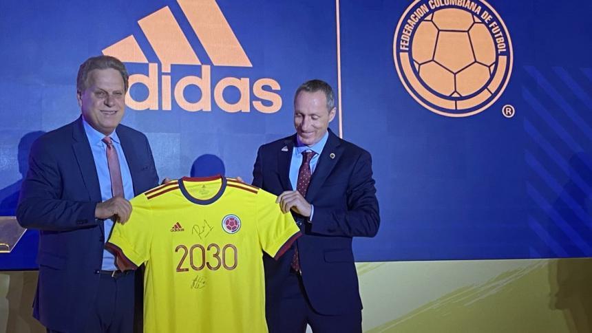 Adidas seguirá vistiendo a la Selección Colombia hasta 2030