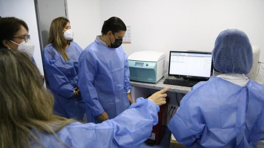 Minciencias inaugura laboratorio biomédico en Montería